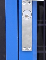 Anti Pry Plates And Cylinder Lockguards Exterior Door Security