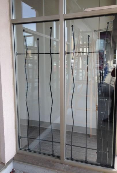 Ornamental security bars decorative